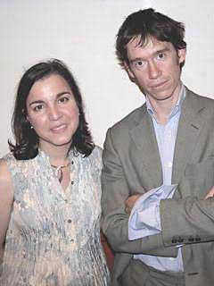 Ziba Norman with Rory Stewart, Member of Parliament for Penrith &amp the Border, former Harvard professor, soldier, diplomat, deputy governor of two Iraqi provinces, author, television presenter.